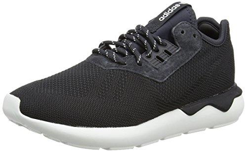 adidas Originals Men's Tubular Runner Weave Trainers Carbon US 10