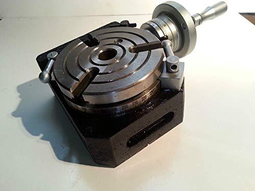 Precision HV4-110 mm Horizontal Vertikal Drehtisch für Fräsmaschine