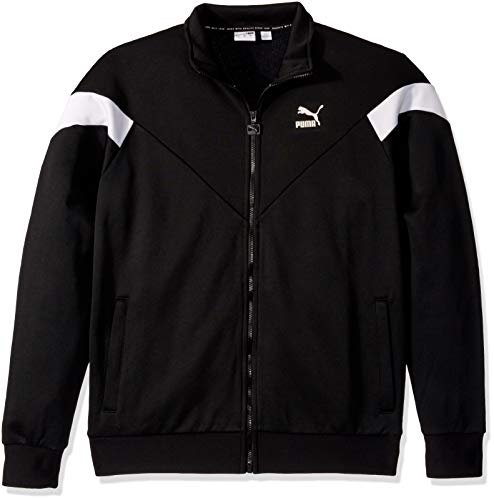 PUMA Men's Iconic MCS Track Jacket, Black, M
