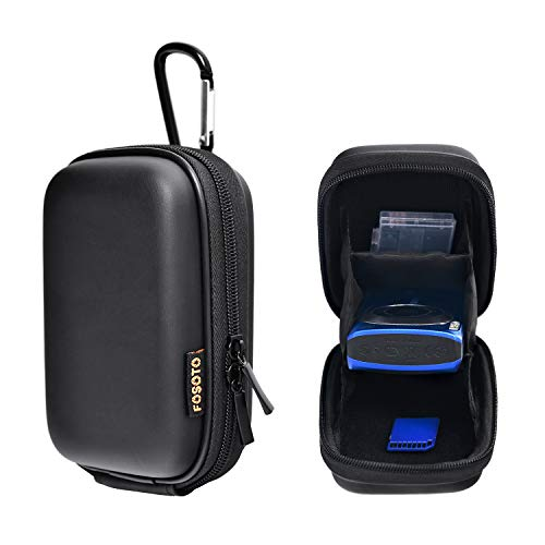 Shockproof Compact Digital Camera Case Bag Compatible for Sony W800 W830 WX500, Canon PowerShot SX620 HS G9 X, Nikon Coolpix A10 S6800, Panasonic Lumix DMC TZ8 ZS20 ZS7-by FOSOTO