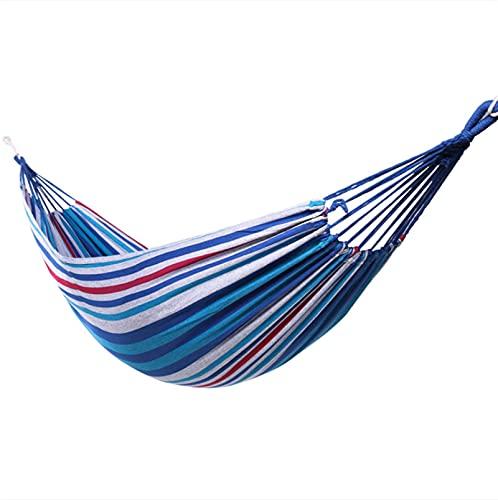LDH Hamaca De Camping De Jardín, Hamaca De Algodón Al Aire Libre, Sillón De Hamaca Portátil Acampar Y Al Aire Libre O Jardines Y Viajes (Size : 78.74 * 31.5in)