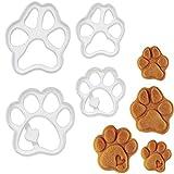 Bakerlogy 4er Set Hundepfoten Ausstechformen