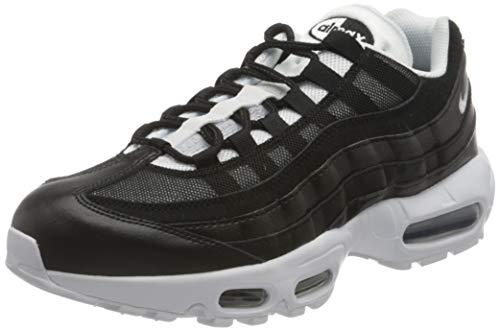 Nike Air MAX 95, Zapatillas para Correr Hombre, Black White, 43 EU