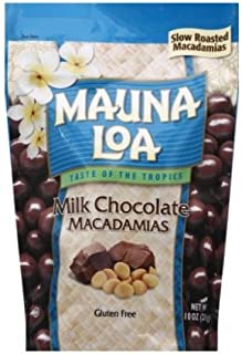 Mauna Loa Milk Chocolate Macadamias 10oz bag