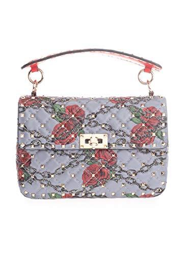 Luxury Fashion | Valentino Womens SW0B0122JIAJU5 Light Blue Handbag | Fall Winter 19