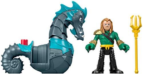 Mattel Imaginext Fisher-Price DC Super Friends Aquaman & Seahorse 3