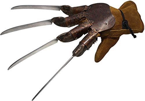 Widmann 4636K - Horror-Handschuhe Scherenhände, Klingenhandschuhe, 1 Paar, Kostüm-Zubehör, Verkleidung, Halloween, Karneval, Fasching, Mottoparty, für Erwachsene