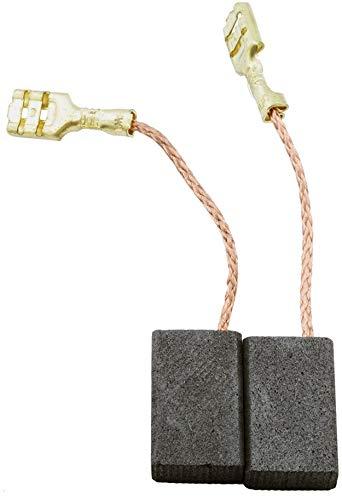 Escobillas de Carbón para ATLAS COPCO WS1000 amoladora - 5x10x16mm - 2.0x3.9x6.3