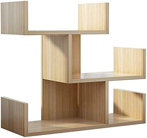 Bücherregal Desktop, Naturholz-Tischplatte Buchregal St er Organizer, Büro und Wohnkultur Display Regale Halter