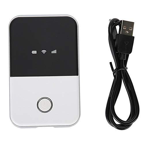 Entsperrte Mobile 4G LTE-Hotspot-Geräte, WiFi-Box - Hohe Geschwindigkeit - 2100 mAh - Bis zu 10 verbundene Benutzer - USB-Aufladung - Tragbarer 4G-Router Geeignet für Telefon-iPad Laptop usw.
