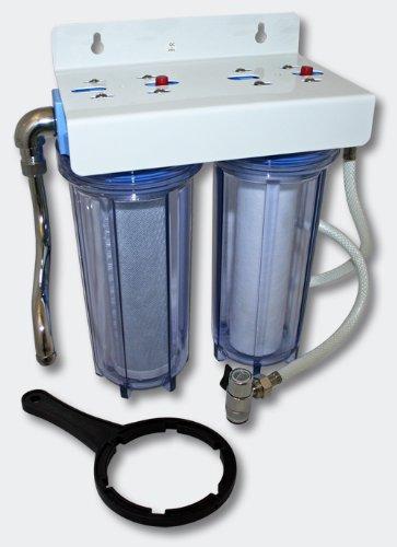 Naturewater NW-PR102 Doppelfilter 3/4 Zoll 26mm Wasserfilter Wasserfiltersystem
