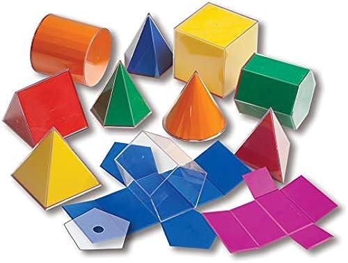 Lernen Vorteil CTU7771 Folding 3-D Geofigures 10Cm