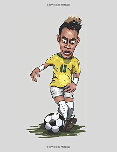 Neymar Jr: Lined Notebook