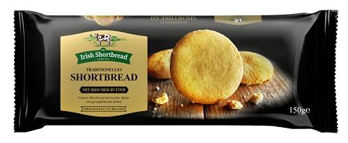 The Irish Shortbread Company Shortbread Original - Irish Butter Biscuits - Traditionelles Irisches Mürbeteiggebäck, 150 g