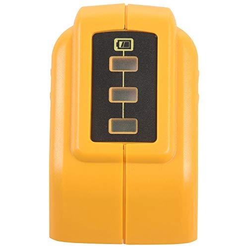 Viudecce Cargador Conversor USB para 14.4 V 18 V 20 V Conversor De Batería Li-Ion Dcb090 Dispositivo USB Adaptador De Carga Fuente De Alimentación