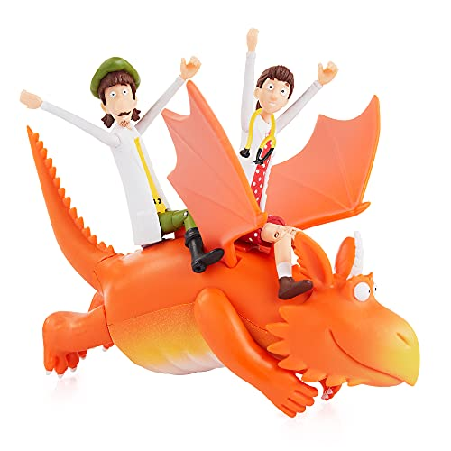 WOW! STUFF Zog and the Flying Doctors Story Time Set   Collectable Articulated Character Action Figures   Official Toys and Gifts from The Julia Donaldson Books, TV and Animation Movie Series