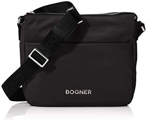 Bogner Klosters Fanny Schultertasche Damen Tasche aus Nylon, mhz, 8.5x22x26 cm