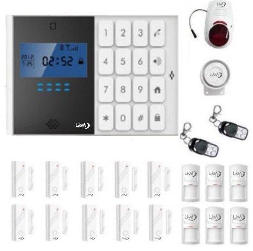 Kit draadloos alarminstallatie huis kantoor winkel box kit besturingswals GSM draadloze sirene draadloze muisbeschermhoes