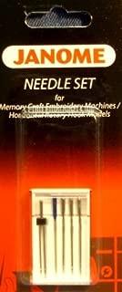 Janome Needle Set for Memory Craft Emb Machines/ Horizontal Rotary Hook Models