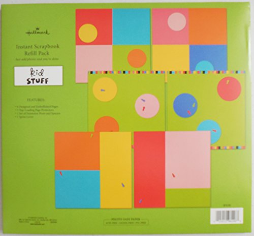 Hallmark 'Kid Stuff' Instant Scrapbook Large Refill Pack SKB6006