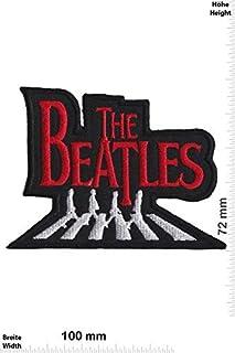 Beatles The Walking On Abbey Road Red_1 patch badge Applique geborduurd ijzer op