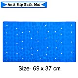 RNAZLIS® Anti Skid Mat for Bathroom Floor Mat for Bathtub Shower with Suction