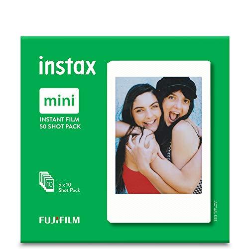 Fujifilm Instax Mini película, Pack of 5 x 10 Hojas (50 Hojas)