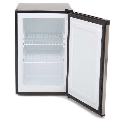 Whynter CUF-210SS Energy Star 2.1 cu. ft. Stainless Steel Upright Lock Compact Freezer/Refrigerators