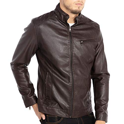 Leather Jackets Summer Outfits Men's