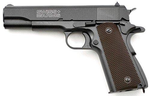 Swiss arms-SA P1911 full metal- E=1,7 J - 4.5 MM CO2 Blowback -ref.288710