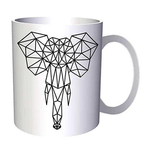 New Geometric Elephant Tattoo 11Oz Mug H240