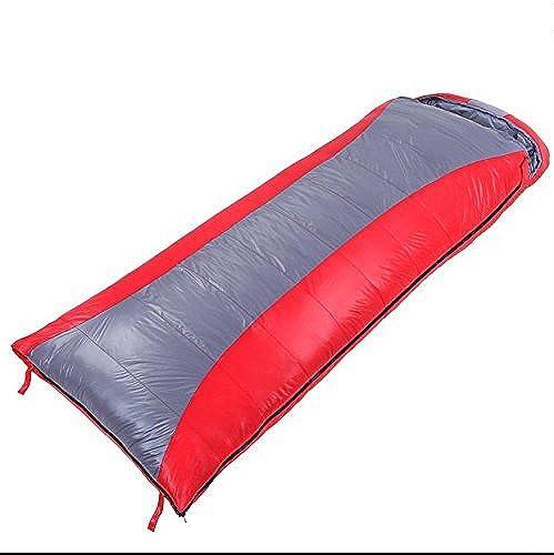 Sacs de couchage camping, Sacs de couchage adulte sac chaud épais en plein air de camping d'hiver de couchage peut être épissé unique (sac de couchage simple) ,sac de couchage