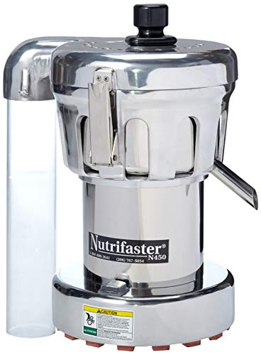 Nutrifaster N450 Multi Purpose Juicer | Polished Aluminum