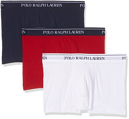 Polo Ralph Lauren 3 Packs Pouch Trunks, Short Homme, Mehrfarbig (3Pk Rl2000 Red/White/Cru Navy 005), XX-Large (Lot de 3)