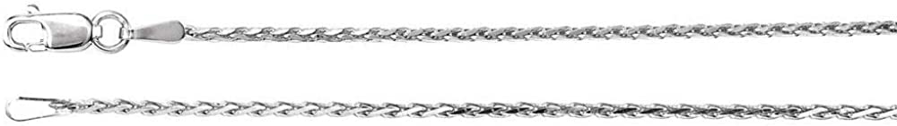 Our shop most popular Sterling Silver 1.5mm Diamond New sales Cut Wheat 20