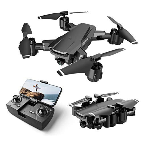ZHaoZC H3 GPS Drone with 4K Camera Hd for Adults, 5G WIFI FPV Foldable Quadrocopter with 120°Wide-Angle Gravity Sensor, Altitude Hold, Headless Mode, One Key Return,1080P