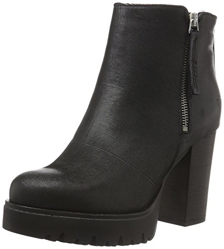 Shoot Damen Shoes SH-216004 Kurzschaft Stiefel, Schwarz (Black Print), 38 EU