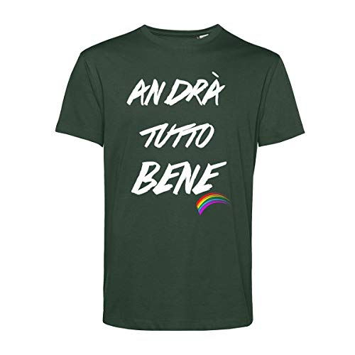 Art T-shirt, Andrà alles Bene Forza, heren