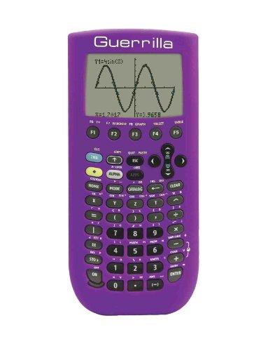 Guerrilla Silicone Case for Texas Instruments TI-89 Titanium Graphing Calculator, Purple