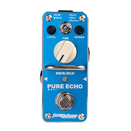 perfk APE 3 Guitar Effect Pedal Musical Instrument Accessory for Guitar Parts Blue