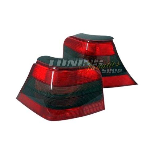 Rückleuchten Heckleuchten-Set Rot & Schwarz 25 im edlen Design
