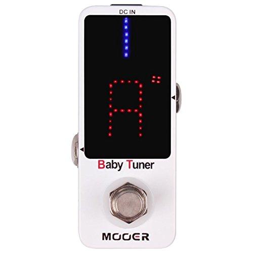 Mooer Baby Tuner Pedale Accordatore Cromatico