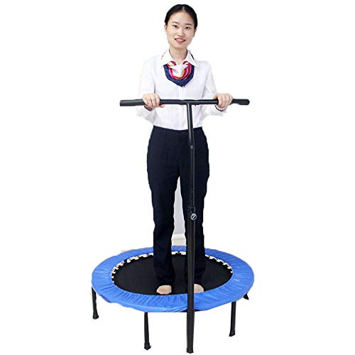 Lowest Price! CCTYCC Trampoline, 36 Inches Foldable Removable Very Portable PVC Mini Trampoline, for...