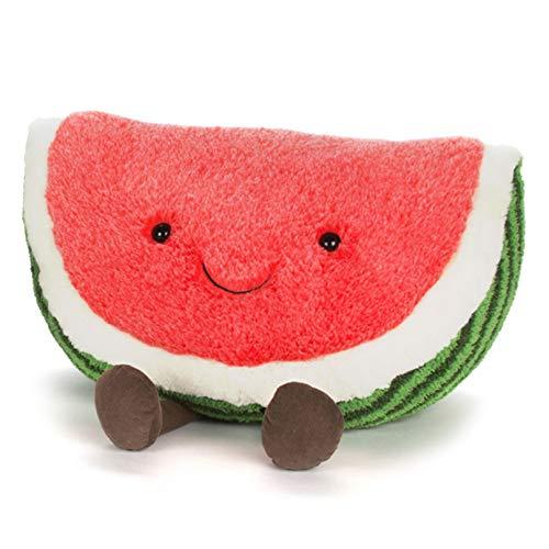 ジェリーキャット スイカ ぬいぐるみ 大きい 特大 HUGEサイズ Amuseable Watermelon (A1W) 39cm [並行輸入品]