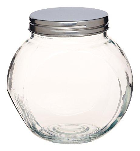 KitchenCraft KCHMSJARLRG Home Made Vorratsglas, groß, vertikal oder geneigt