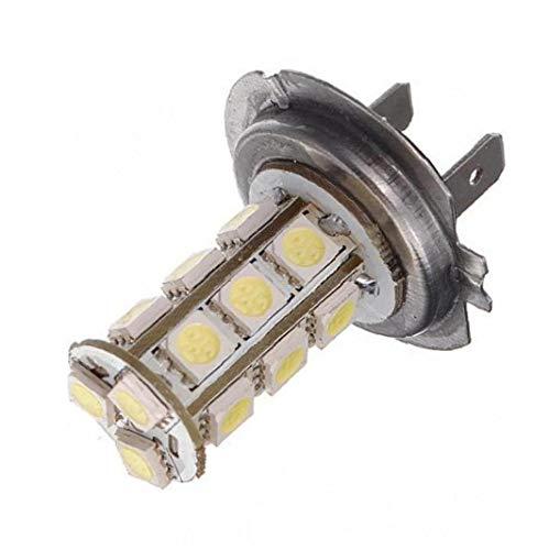 OMMO LEBEINDR 1pc SMD 18 LED 5050 Adorno de la bóveda Mapa de luz LED Interior bulbos de lámpara de 3021 DE3021 6411 6413 6418 DE3423 DE3425 luz Blanca