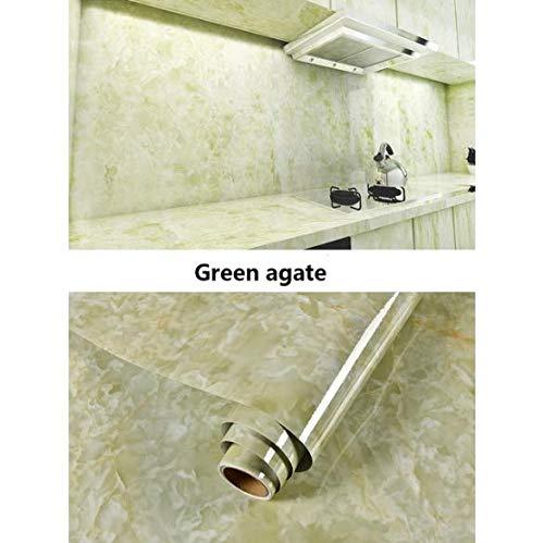 Badezimmer Mit Marmor Vinyl Selbstklebende Wasserdichte Tapete Küchenschrank Arbeitsplatte Kontaktpapier Pvc Tapete Aufkleber 60 X 100Cm