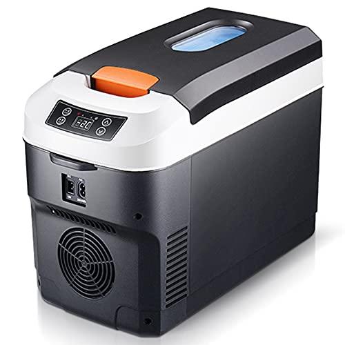 Mini Frigoríficos 10 L Mini Frigo Con Espejo De Maquillaje LED, Con Función De Frío Y Calor Aplicar Para Dormitorio Oficina Dormitorio Uena Opción Para El Cuidado De La Piel Y Los Cosméticos