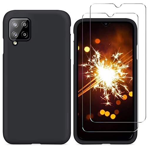 NC YiKaDa - Funda Compatible con Samsung Galaxy A12 + [2 Unidades]...