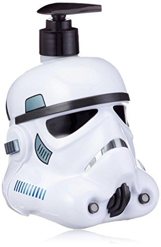 Air-Val Star Wars Geschenk-Set Pflegeset für Kinder und Fans (2 in 1 Duschgel und Shampoo 500ml im 500ml im 3D Stormtrooper-Helm), Sammel-Edition